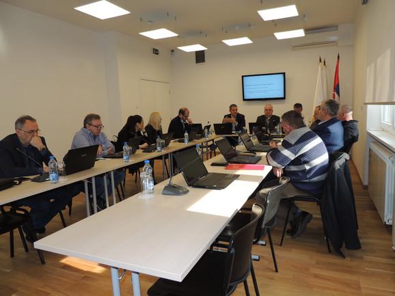 Detalj sa sednice Olimpijskog komiteta Srbije