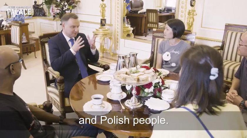 W Pałacu Prezydenckim