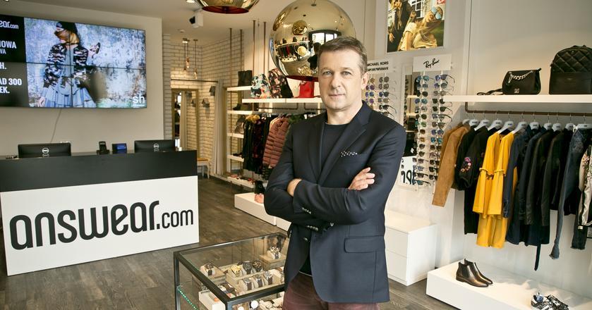 Prezes answear.com, Krzystof Bajołek, zdradza nam europejskie plany marki