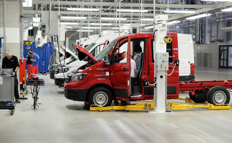 Volkswagen crafter powstaje w nowej fabryce w Białężycach