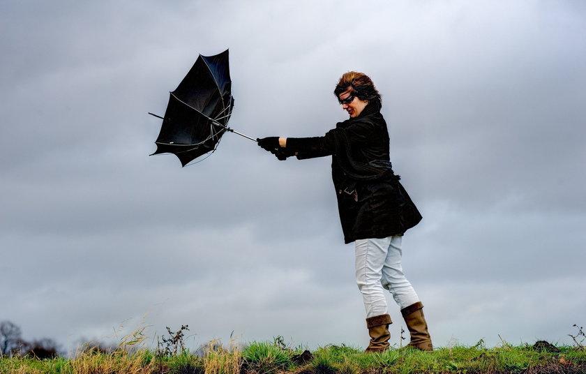 Wiatr szaleje na Mazowszu