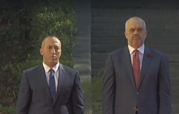 Ramuš Haradinaj i Edi Rama