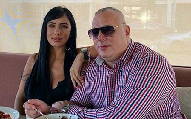 Aleksandra sa partnerom Pecom