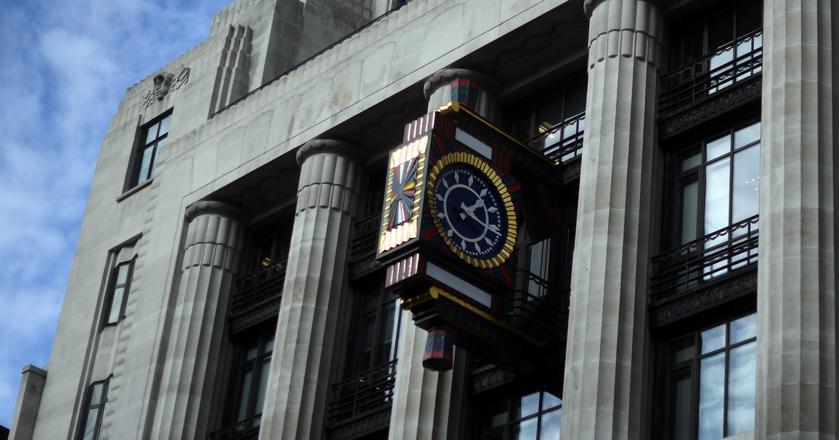 Siedziba biura banku Goldman Sachs w Londynie, Anglia.