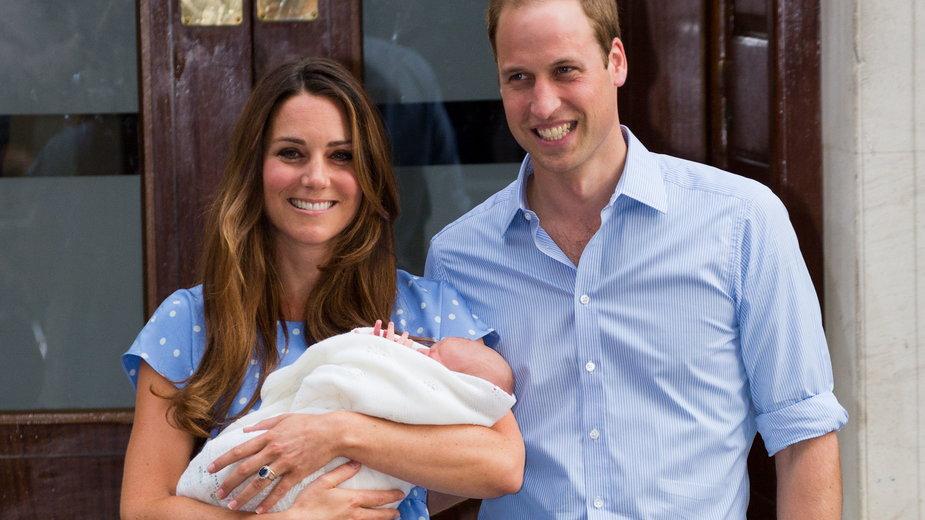 Minęło osiem lat od chwili, gdy książę George pojawił się na świecie
