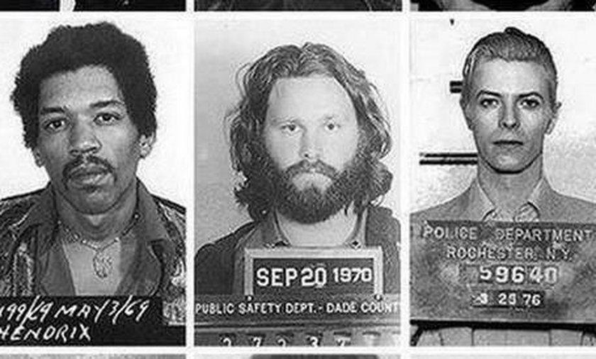 Policyjne zdjęcia znanych ludzi