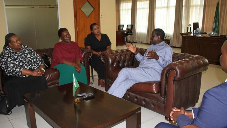 Details of Raila Odinga's private meeting with Doris Moi - former President's last born daughter