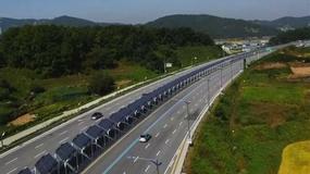 Rowerowa ścieżka na sześciopasmowej autostradzie