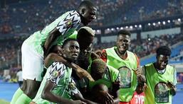 Super Eagles of Nigeria (EPA)
