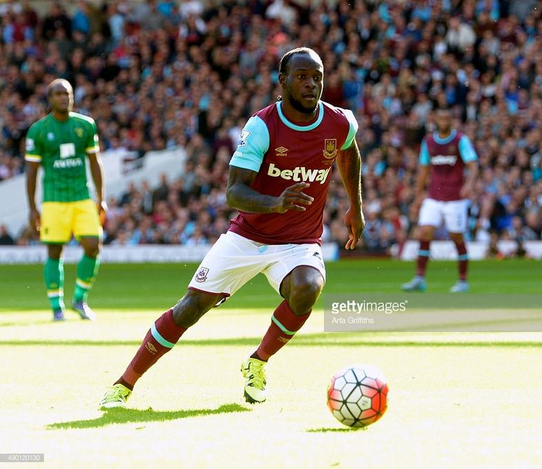 Victor Moses spent the 2015/2016 season with West Ham (Arfa Griffiths/West Ham United via Getty Images)