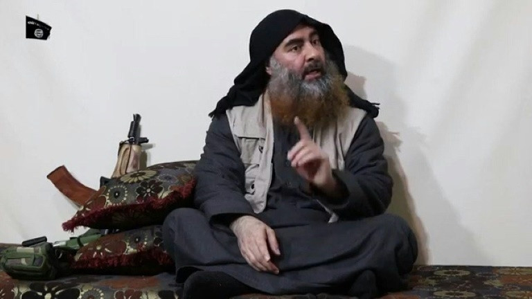 Baghdadi reportedly served as a Muslim cleric before he was radicalized (AFP)