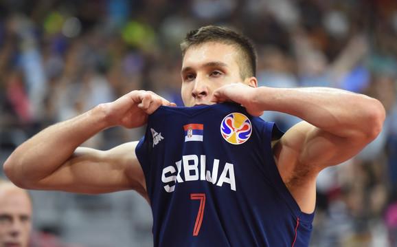 Bogdan Bogdanović u četvrtfinalu Svetskog prvenstva