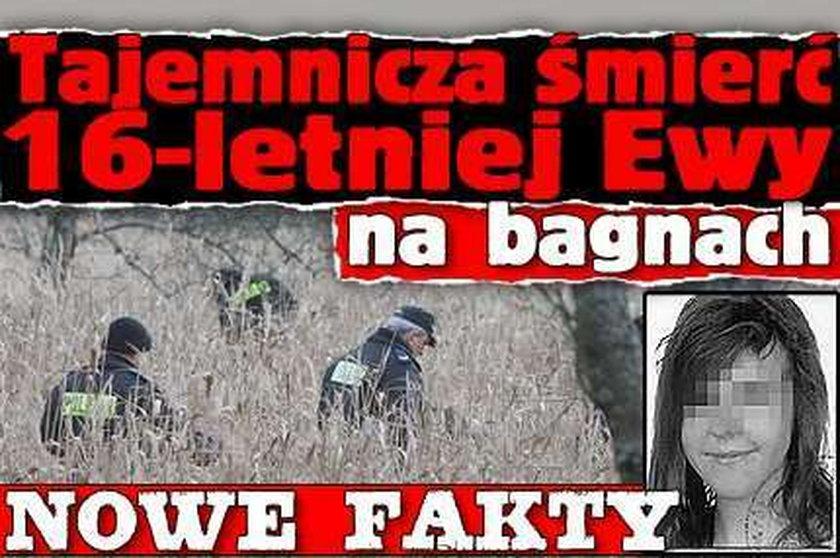 Tajemnicza śmierć 16-letniej Ewy na bagnach. Nowe fakty