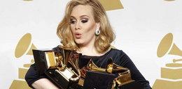 Wygłupy Adele na rozdaniu nagród Grammy