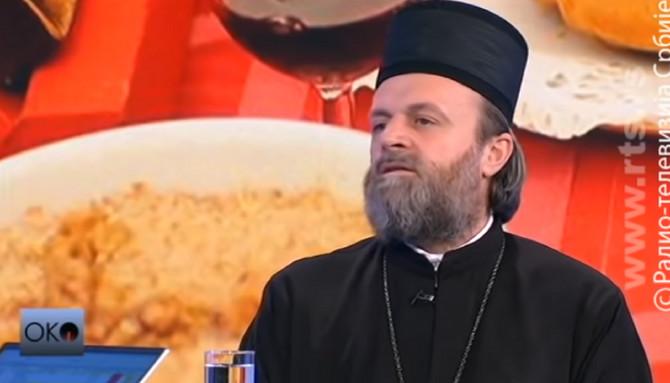 Episkop patrijarha Irineja i starešina Hrama Svetog Save Stefan Šarić