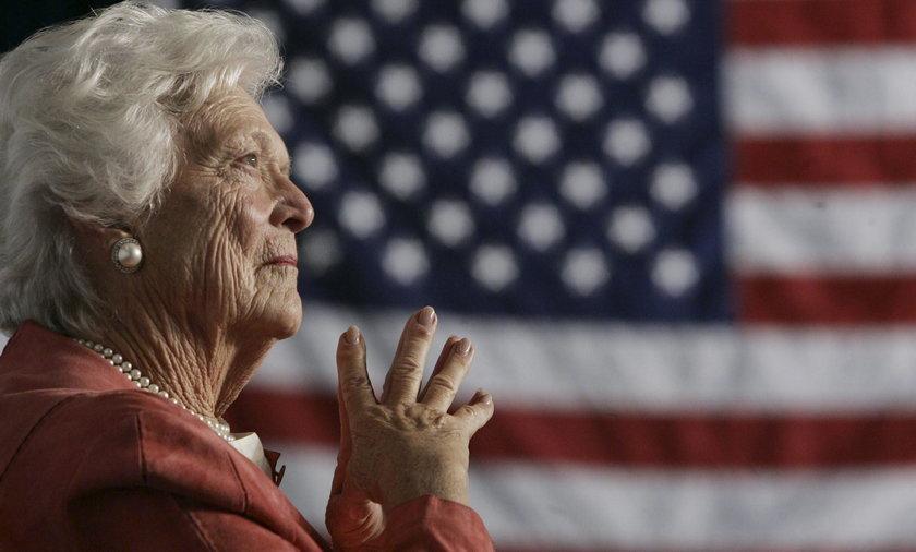 Pogarsza się stan zdrowia Barbary Bush