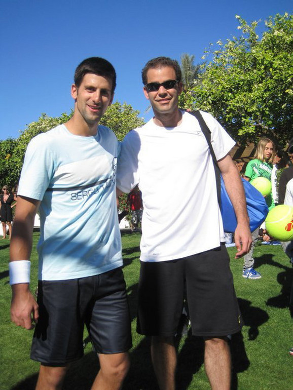 On mu je oduvek bio idol: Novak i Pit Sampras