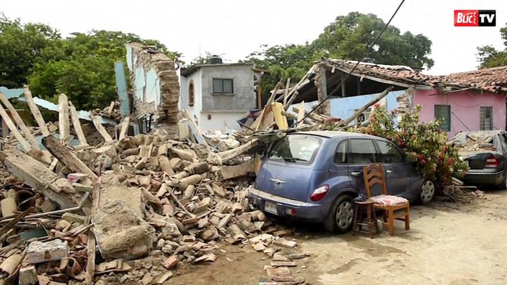 Zemljotres u Meksiku - arhivska fotografija