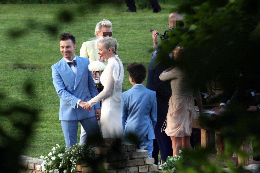 Ślub Adam Sztaby i Doroty Szelągowskiej w maju 2013 roku