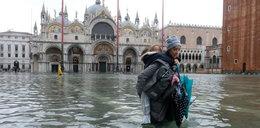 To największa od 53 lat powódź. Tak tonie Wenecja