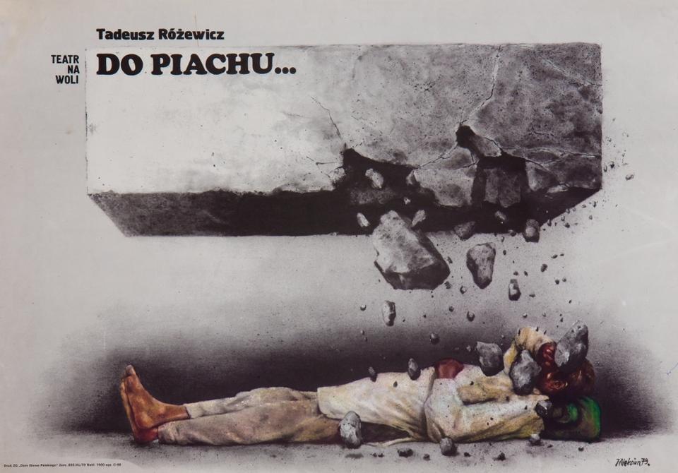 "Plakat ""Do piachu"""