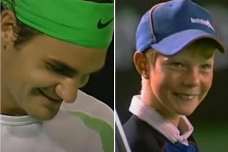 Federer i Dečak