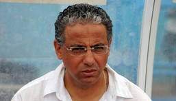 Outgoing Botswana coach Adel Amrouche was a midfielder for clubs in Algeria, Austria and Belgium before turning to coaching in 1995. Creator: -