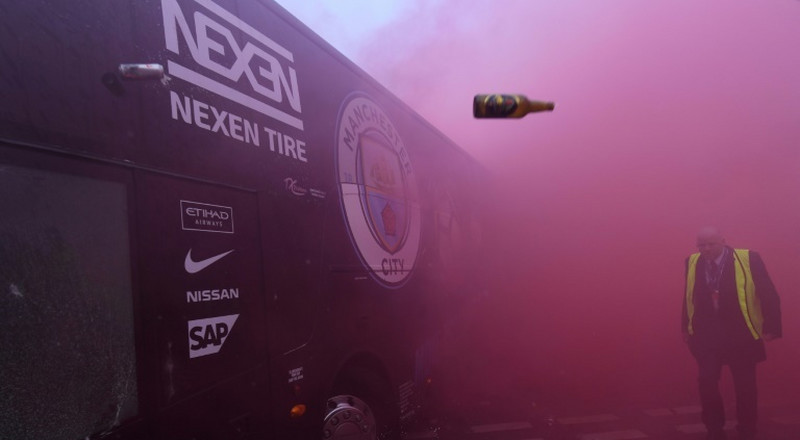 Real Madrid bus attacked ahead of Liverpool match
