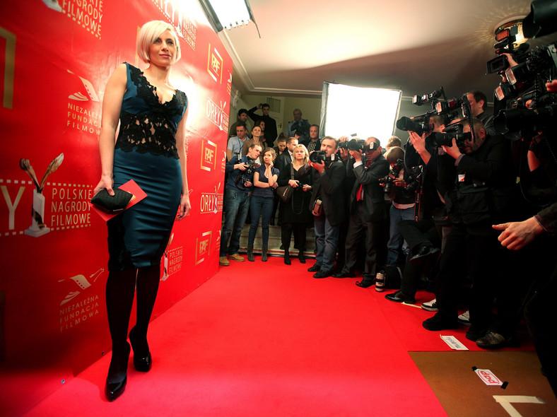 Aktorka Sylwia Gliwa