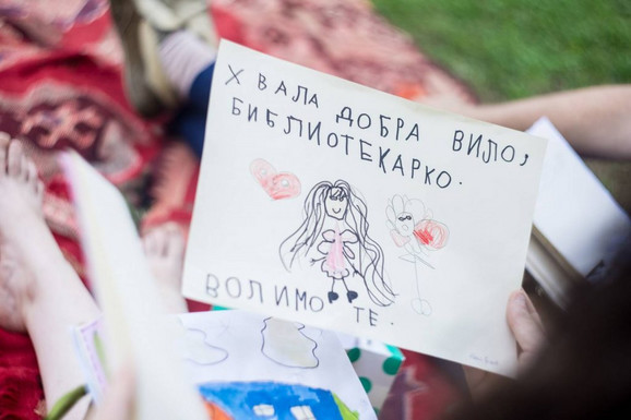 Deca radost zbog akcije neretko pretoče u divne poruke za Aleksandru