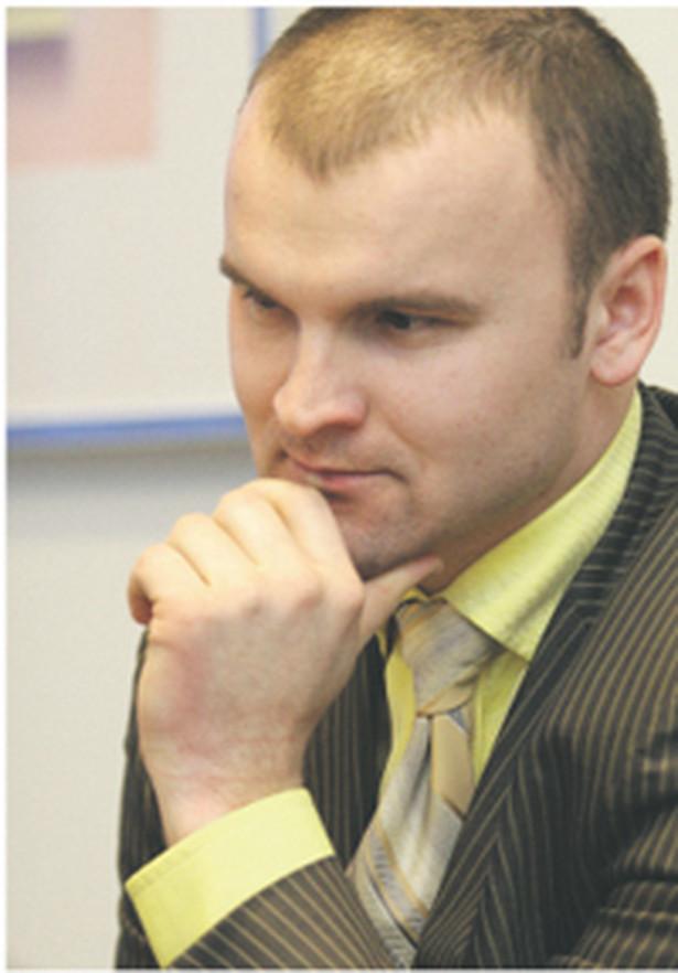 Zdaniem Rafała Brzoski, prezesa InPost, brak euroskrzynek naraża prywatnych operatorów pocztowych na wymierne straty finansowe Fot. Wojciech Górski