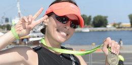 Katarzyna Glinka na sportowo