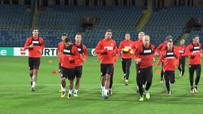 Lewandowski sam w ataku, brak Milika odczuwalny