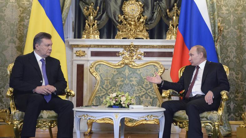 Putin podarował Janukowyczowi drugą kadencję