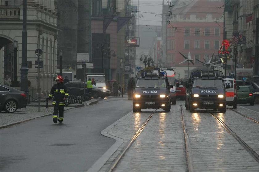 Bomba we Wrocławiu