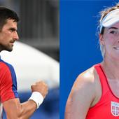 Ma, bravo! Đokoviću je stalo, BAŠ MU JE STALO! Fantastična Nina i neverovatni Novak pobedom otišli u četvrtfinale dubla!