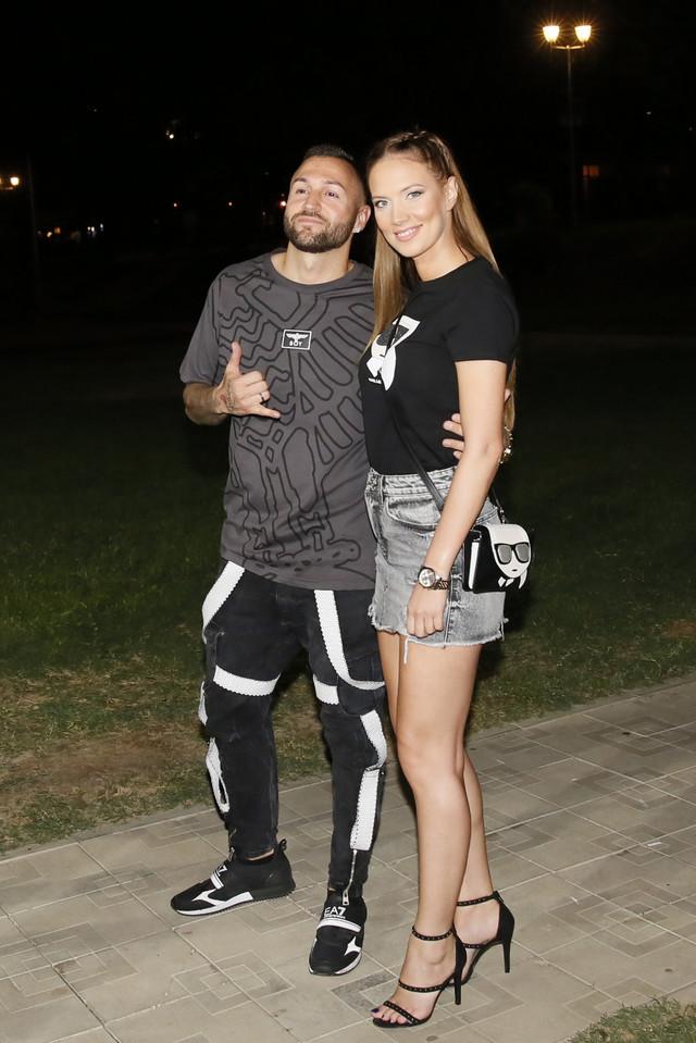 Nenad Aleksić Ša sa ženom