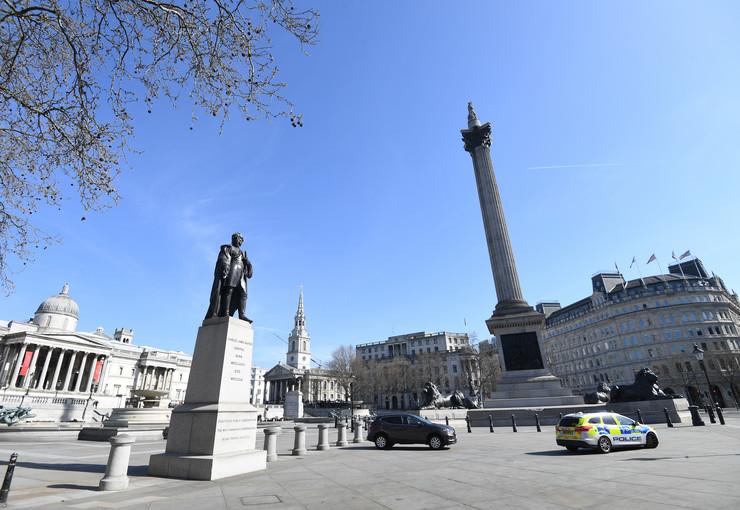 London koronavirus