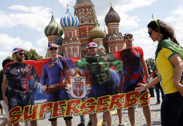 Supersrbi - zasad, u fudbalu, samo kao izmišljeni junaci