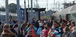 Pociągi stanęły przez trakcję