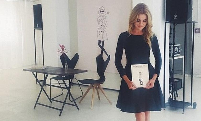 Kasia Tusk w sukience swojego projektu