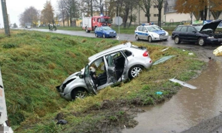 Wypadek w Bogdanowicach