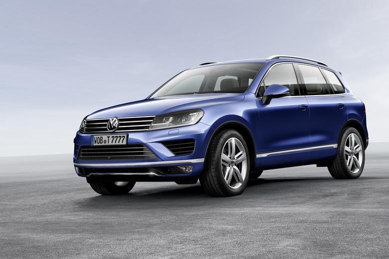 Volkswagen Touareg - druga generacja