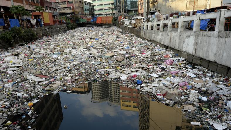 PHILIPPINES-ENVIRONMENT-POLLUTION