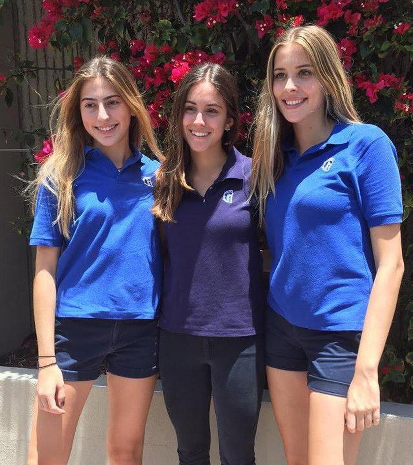 Młode Amerykanki, Susana Cappello, Carolina Baigorri i Victoria Roca dzięki swojemu projektowi zwyciężyły w konkursie Business Plan Challenge High School Track
