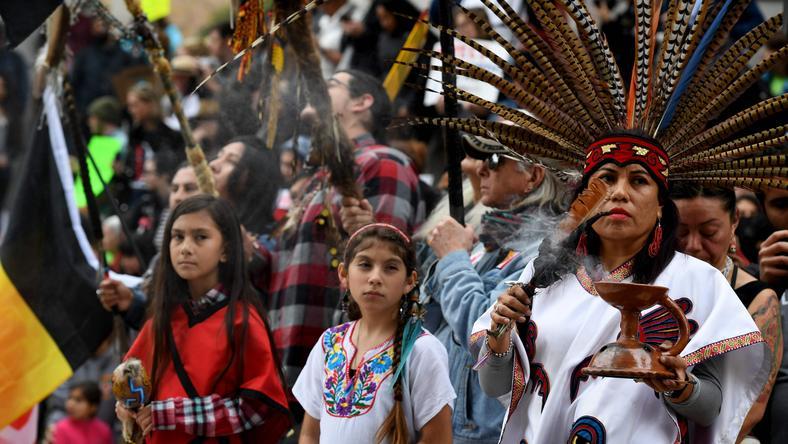 Indianie protestujący przeciwko Dakota Access Pipeline