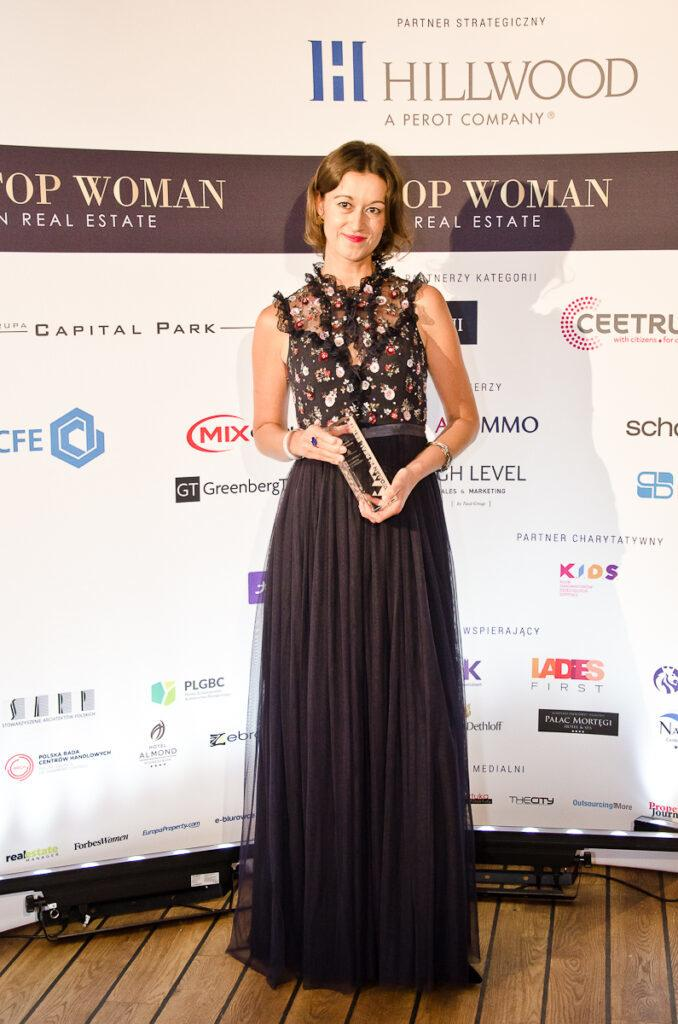 Anna Szmeja – laureatka Top Woman in Real Estate w kategorii Innovation & technology