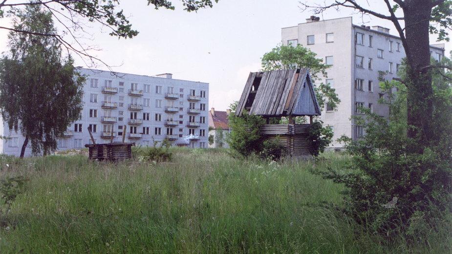 Kłomino, miasto widmo. Zdjęcie archiwalne, 1993