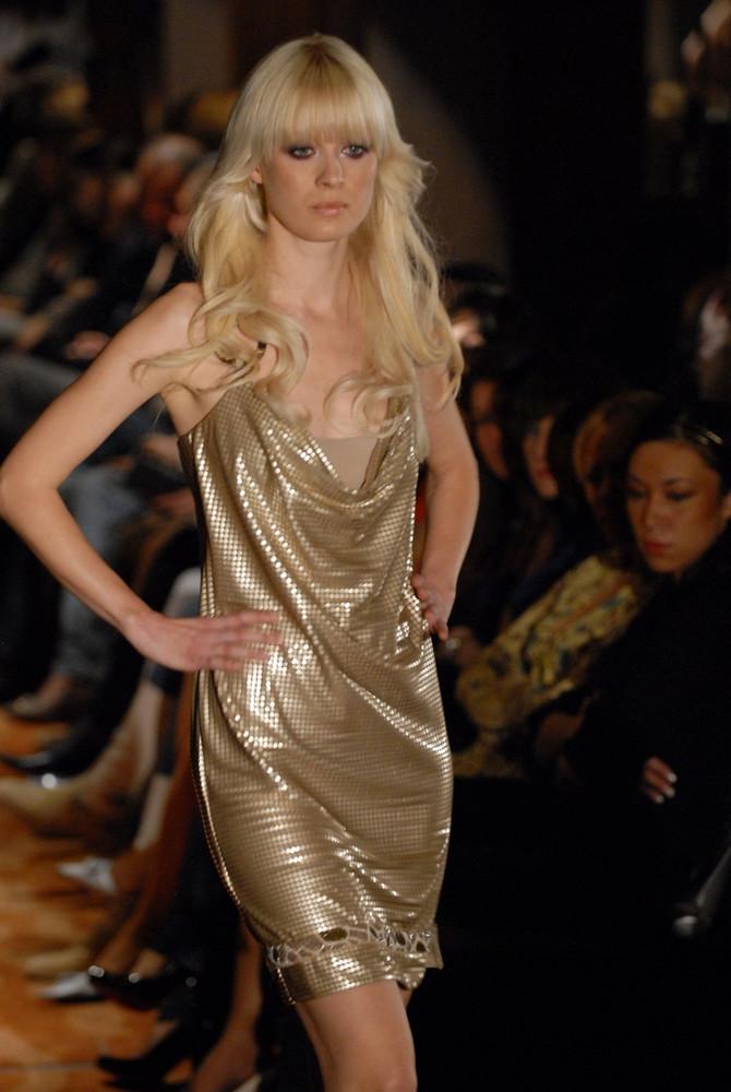 Anđelija Vujović na modnoj pisti