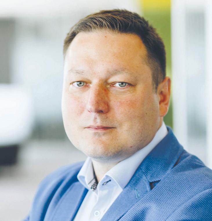 Łukasz Niesłuchowski, członek zarządu, dyrektor handlowy Rockwell Automation w Polsce  fot. materiały prasowe